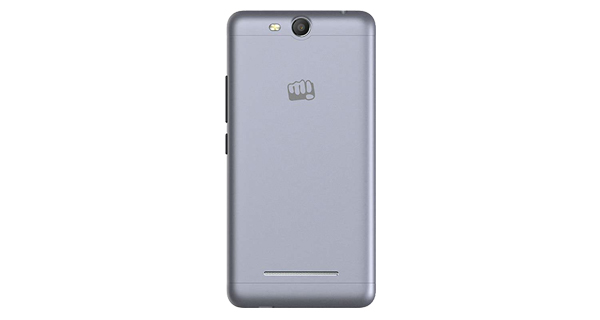 Micromax Canvas Juice 3 Q392 Back View
