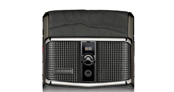 Vertu Signature Touch 2015 Rear Camera View