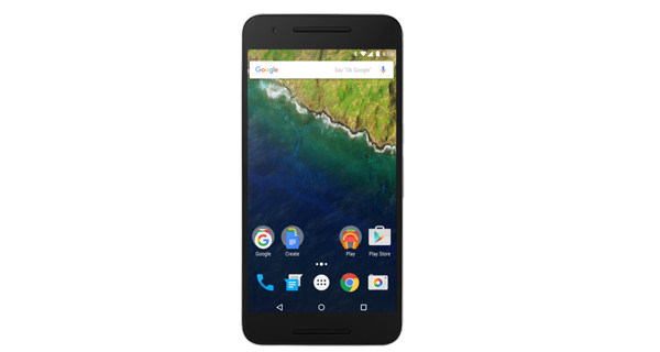 Google Nexus 6P Front View