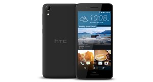 HTC Desire 728G Dual Sim Front and Back View