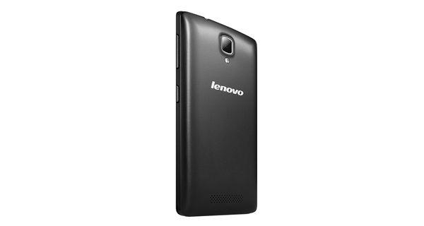 Lenovo A1000 Back View