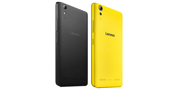 Lenovo A6000 Shot Back View