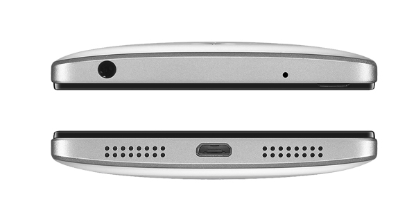 Lenovo VIBE P1 Top and Bottom View