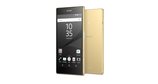 Sony Xperia Z5 Dual Front and Back View