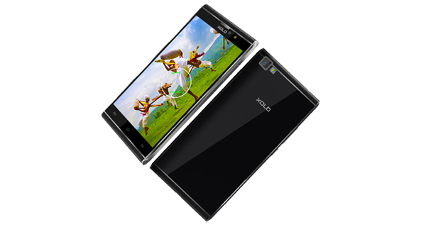 Xolo BLACK 1X Front and Back View