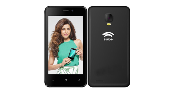Swipe launches Konnect 5.1 with 3000mah battery, quad core processor for Rs. 3999