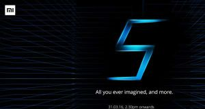 Xiaomi Mi5 Launch Invite