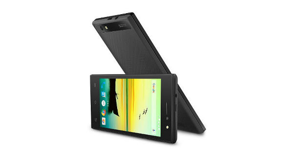 Lava A76 Front and Back