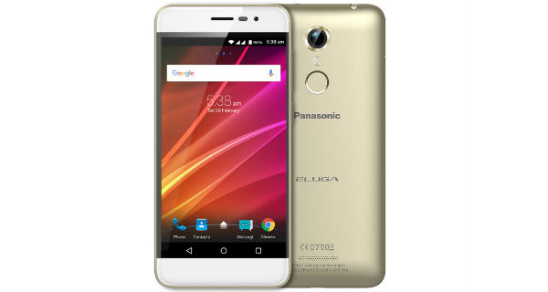Panasonic Eluga Arc with curved display, fingerprint scanner launched in India at Rs. 12,490