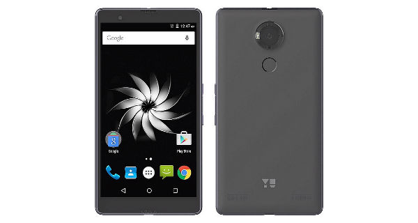 Yu Yureka Note Front and Back