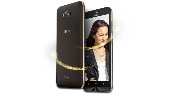 Asus Zenfone Max Front and Back