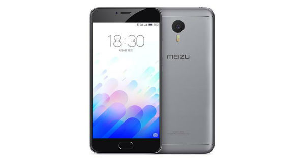 Meizu m3 Note Front and Back