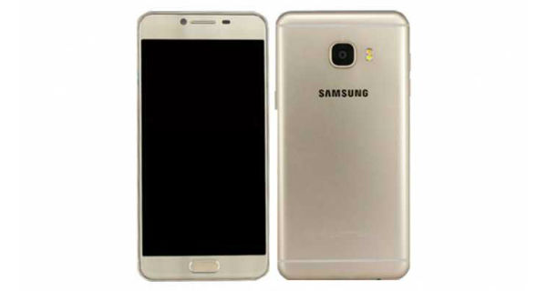 Samsung Galaxy C5 Front and Back