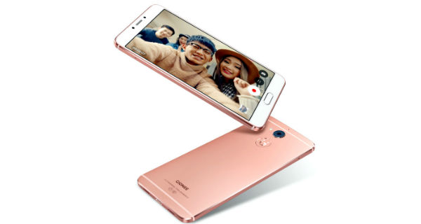 Gionee S6 Pro Front and Back