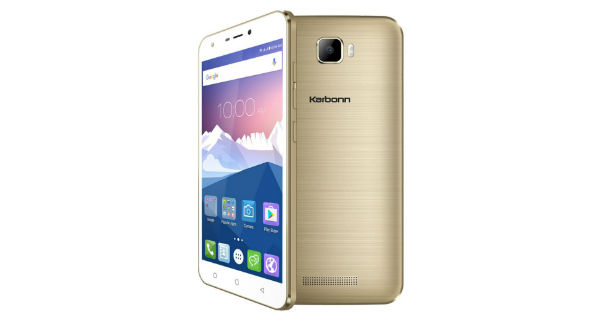 Karbonn K9 Viraat running Android Marshmallow launched for Rs. 4799