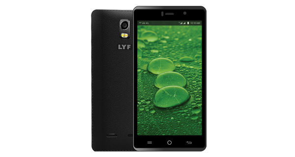 LYF water 10 with 3GB RAM, leather back finish launched at Rs. 8699