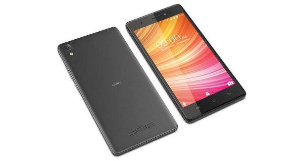 Lava P7 Plus Front and Back