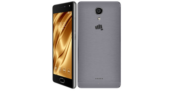Micromax Unite 4 Plus Front and Back