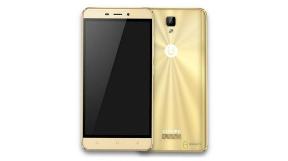 Gionee P7 Max Front and Back