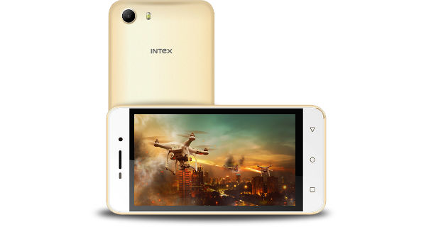 Intex Aqua Raze II Front and Back