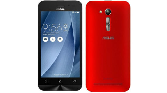 Asus Zenfone Go 4.5 LTE Launched in India for Rs 6999