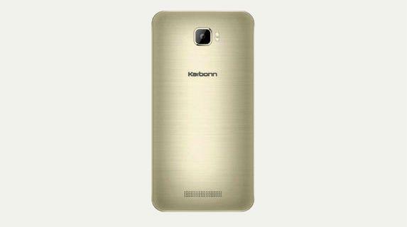 Karbonn K9 Viraat 4G back