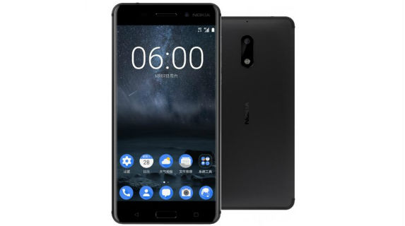 Nokia 6 front back