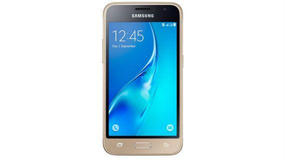 Samsung Galaxy J1 front