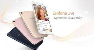 ASUS Zenfone live