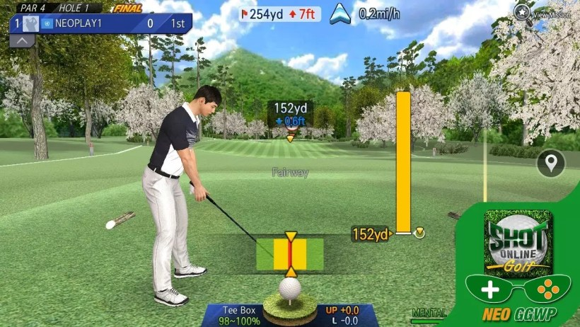online golf shot world championship
