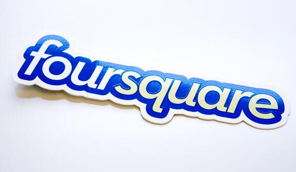 foursquare-logo-sticker