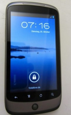 Nexus One Ice Cream Sandwich 4.0 (1)