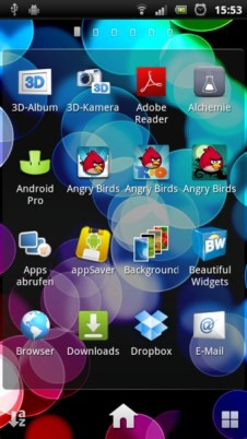 SE Xperia Arc S Screens (3)