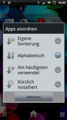 SE Xperia Arc S Screens (5)