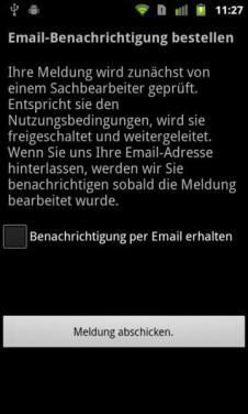 Mängelmelder für Android und iOS (5)
