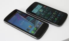 LG Optimus True HD LTE und Galaxy Nexus