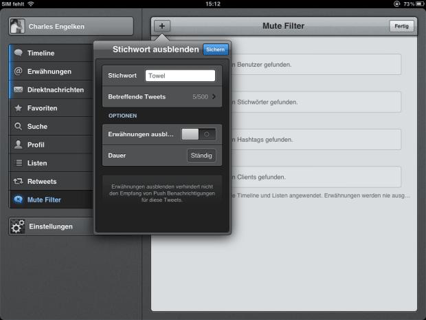 Tweetbot für iOS - Update auf Version 2.4