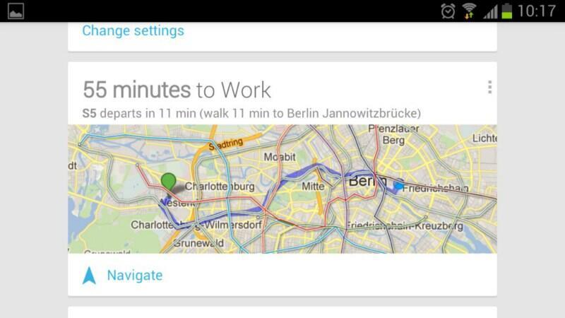 Deutsche Bahn Fahrpläne für Google Maps on
