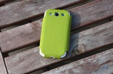 IMYMEE Flip Card Diary Case for Samsung Galaxy S3 - Green IMG_8187