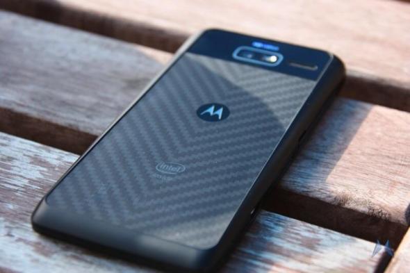 Motorola RAZRi Rückseite Kevlar IMG_8087
