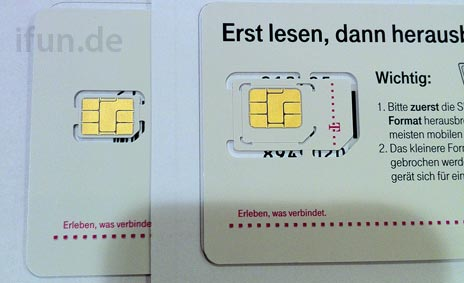 Sim Karte Telekom.Telekom Vertriebspartner Nano Sim Für Neues Iphone Ist Da