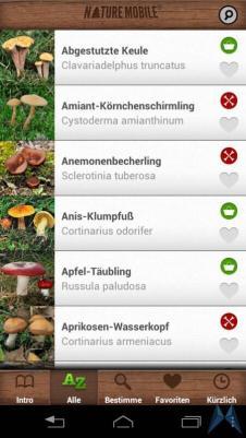 Pilzführer Pro Android test (16)