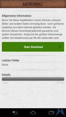 Pilzführer Pro Android test (2)