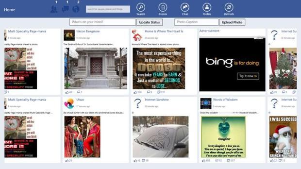 facebook windows 8 app