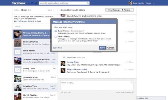 fb screen neu