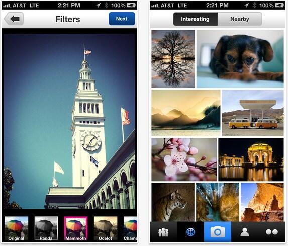 flickr iphone update