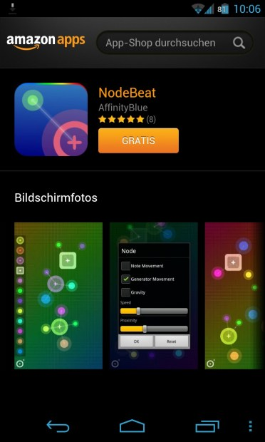 Node Beat Screenshot
