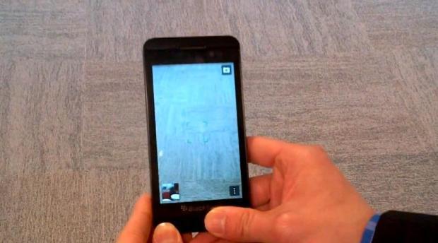 blackberry 10 kamera-app