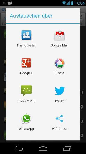 WiFi Direct App Screenshot