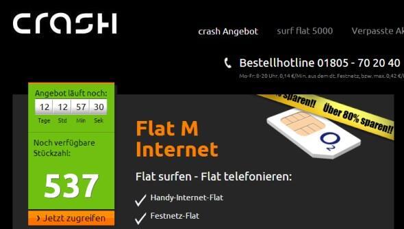 chrash flat m